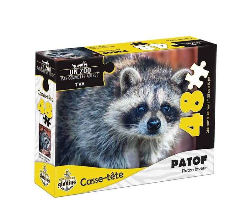 Casse-tête - Patof  - 48 morceaux - Miller Zoo