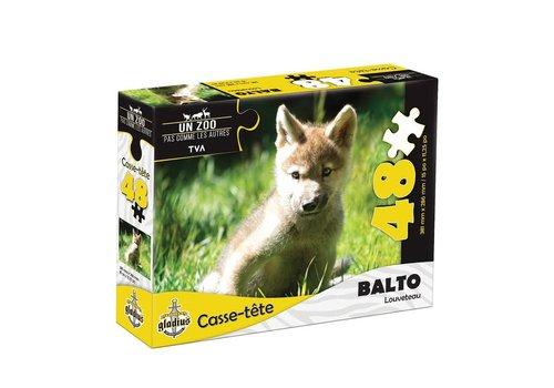 Miller Zoo Casse-tête - Balto  - 48  morceaux - Miller Zoo