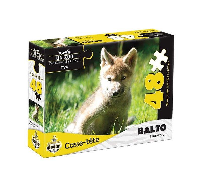 Casse-tête - Balto  - 48  morceaux - Miller Zoo
