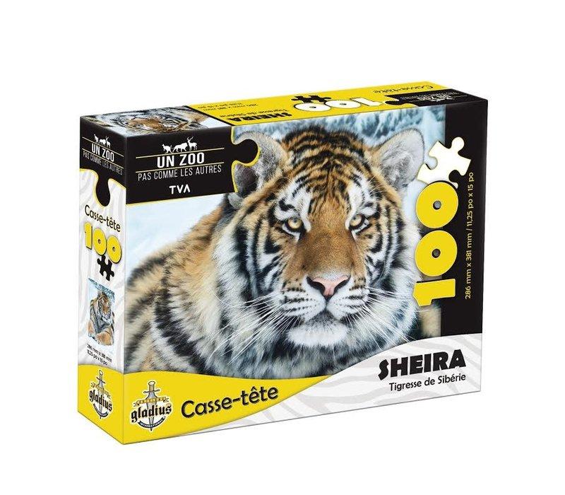 Casse-tête - Sheira  - 100 morceaux- Miller Zoo