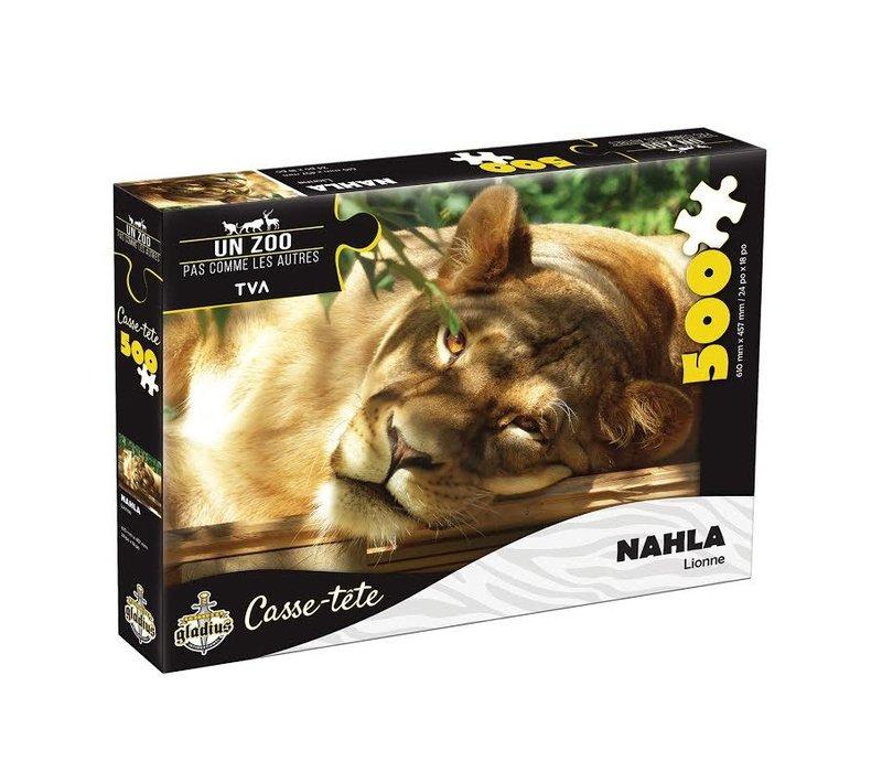 Casse-tête - Nahla  - 500 morceaux - Miller Zoo