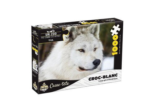 Miller Zoo Casse-tête - Croc-blanc  - 1000 morceaux - Miller Zoo
