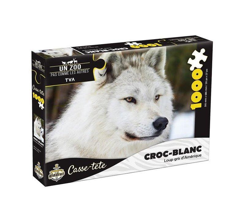 Casse-tête - Croc-blanc  - 1000 morceaux - Miller Zoo