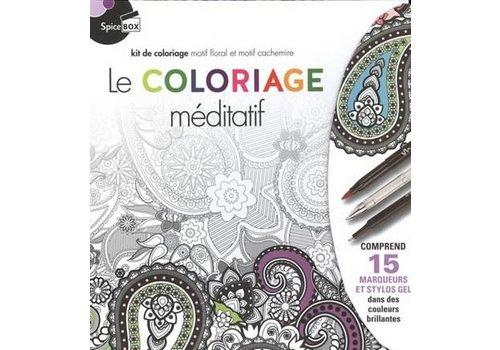 Spice Box Le coloriage méditatif