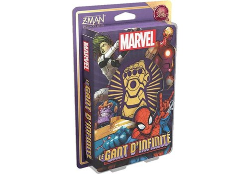 zman games Marvel Le gant d'infinite - Un jeu Love letter