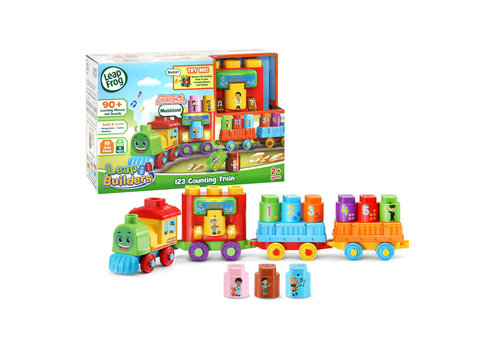 leapfrog LeapBuilders Mon p'tit train interactif