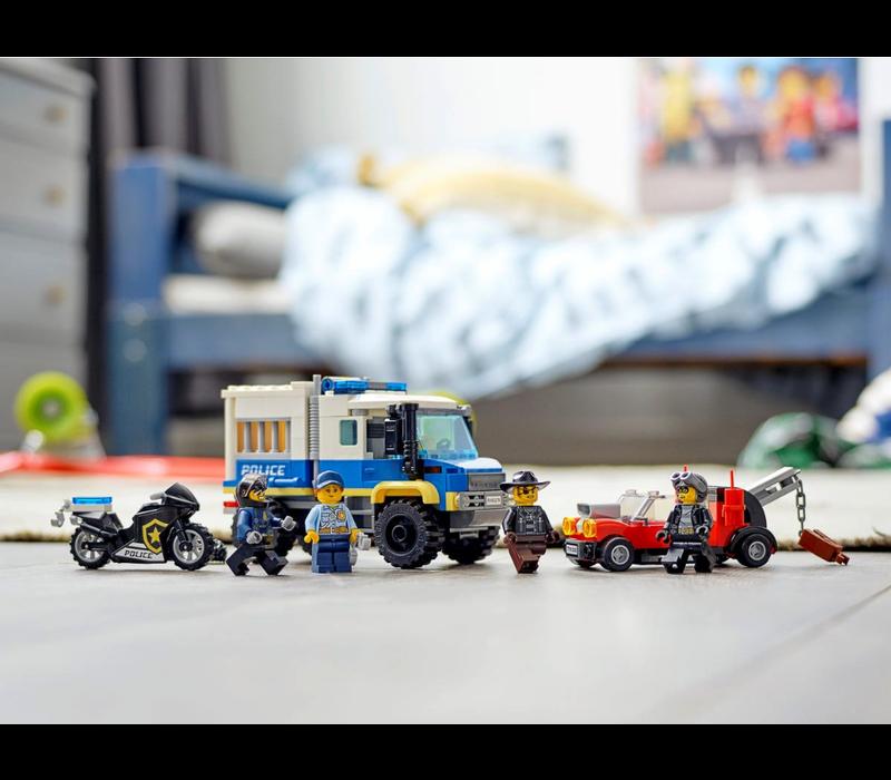 City - Le transport des prisonniers