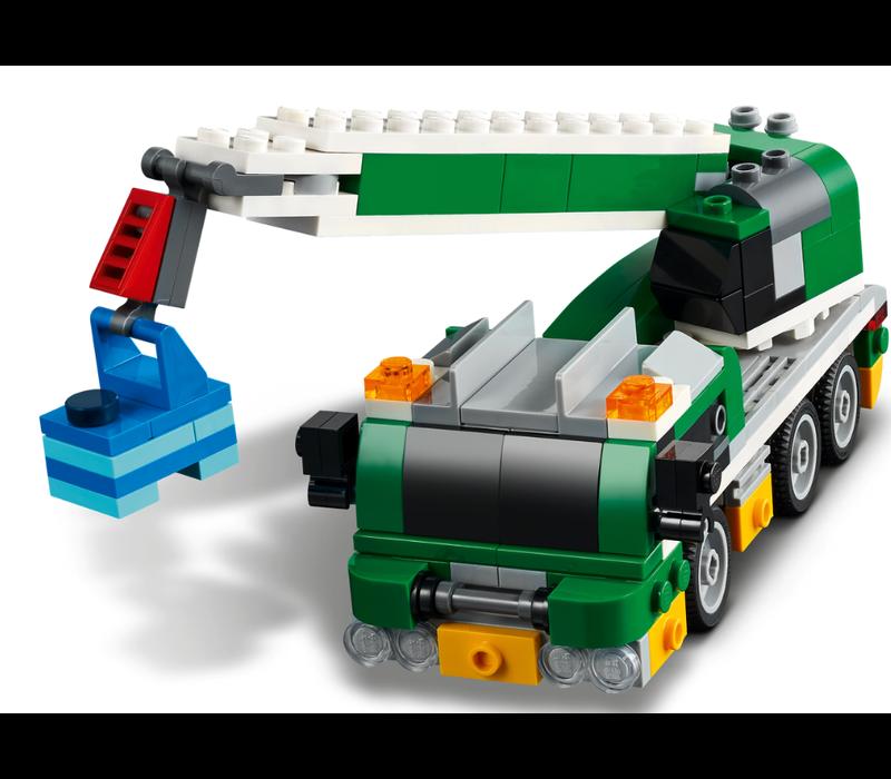 Creator - Le transporteur de voitures de course