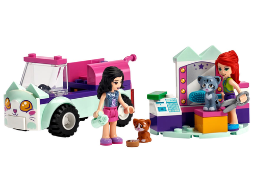 Lego Friends - La voiture de toilettage pour chat