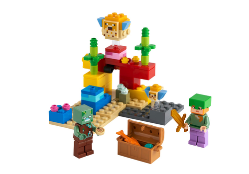 Lego Minecraft - Le récif de corail