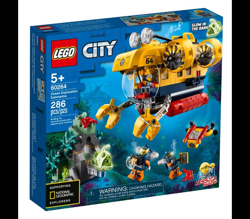 City Oceans - Le sous-marin d'exploration océanique