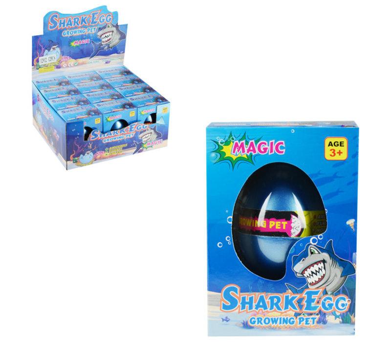 grow egg shark