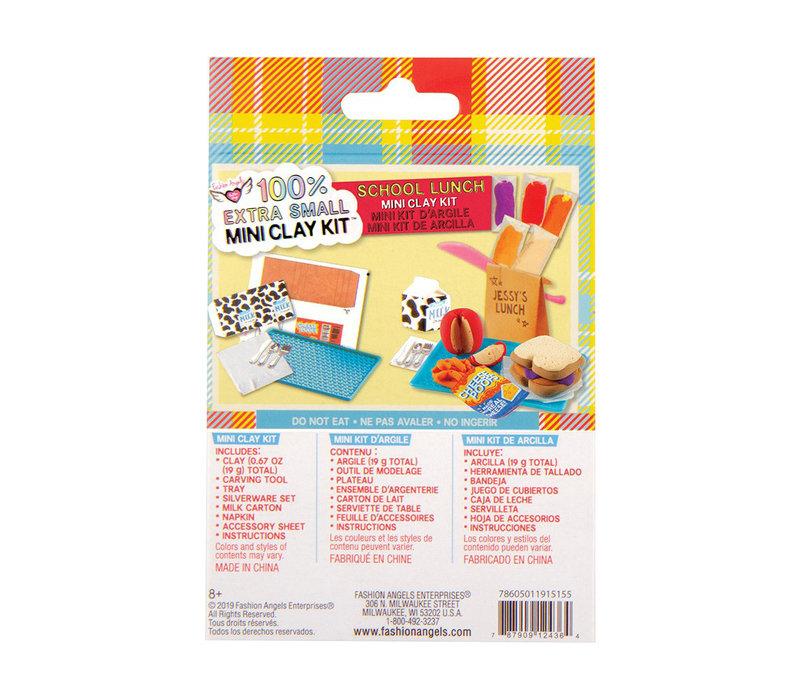 Fashion Angels- Mini kit d'argile- Boîte à lunch