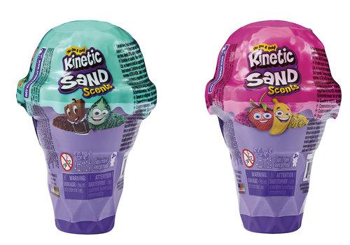 Kinetic Sand - Pot sable parfumé crème glacée