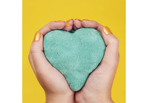 Kinetic Sand - Sac de sable Shimmer 2lbs -Turquoise brillant