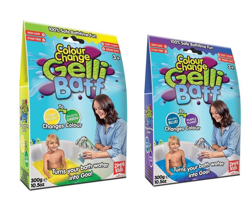 Gelli Baff -Gelée pr bain couleur changeante