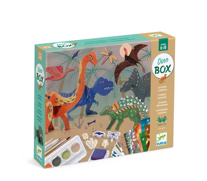 Coffret multi-activités / Le monde des dinosaures