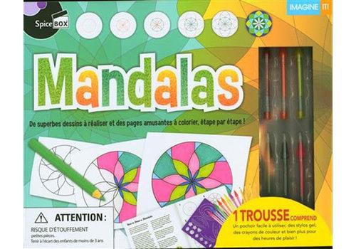 Spice Box Mandalas,  De superbes dessins à réaliser