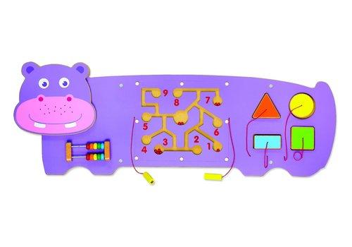 viga Panneau d'activités murales large Hippo