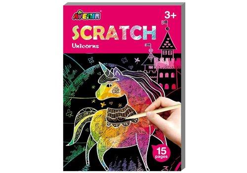 Mini Scratch book Unicorn