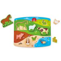 Farm Animal Puzzle & Play - Puzzle et jeu animaux de la ferme