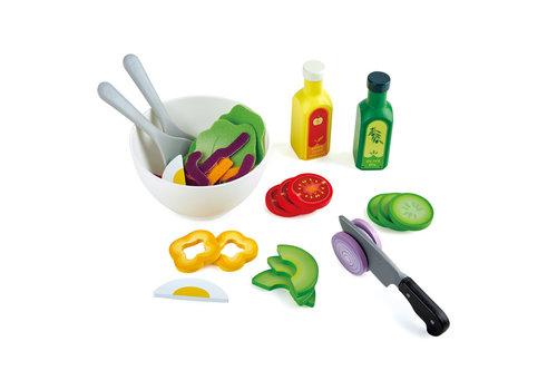 Hape Healthy Salad Playset - Plateau de salade santé