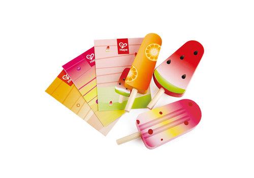 Hape Perfect Popsicles - Plateau de sorbets complets
