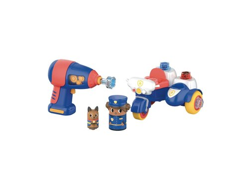 Learning Resources Design & Drill Bolt Buddies Police Motor