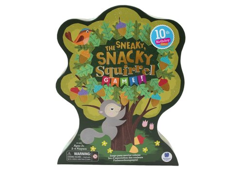 Educational Insight Sneaky, Snacky, Squirrel Game 10th Anniversary