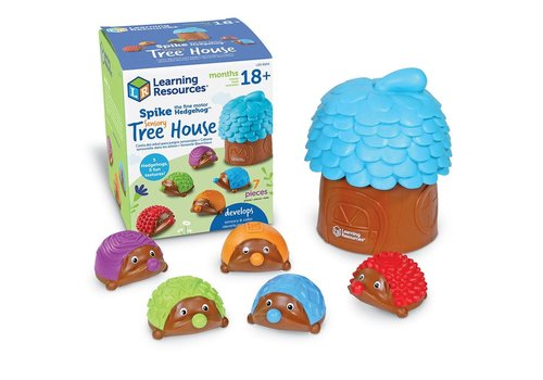 Learning Resources Spike the Fine Motor Hedgehog Sensory Tree House