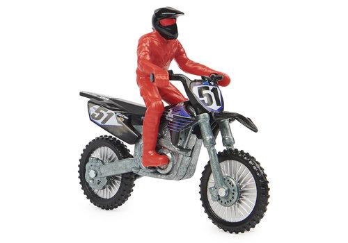 Super cross - 1:24 motocyclette assortis