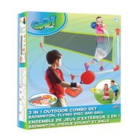 _Go! Zone - Ensemble Jeux Extérieur 3-en-1