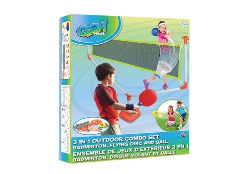 go zone _Go! Zone - Ensemble Jeux Extérieur 3-en-1