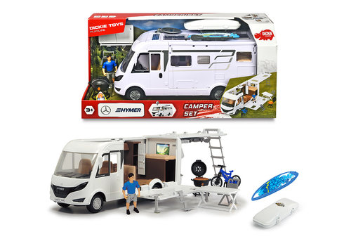 Playlife Ensemble  Camping-car 30cm 1:24