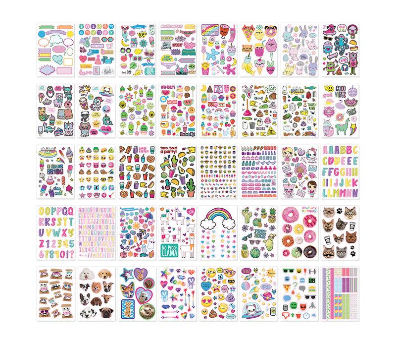 Album 1000+ autocollants- Mignons