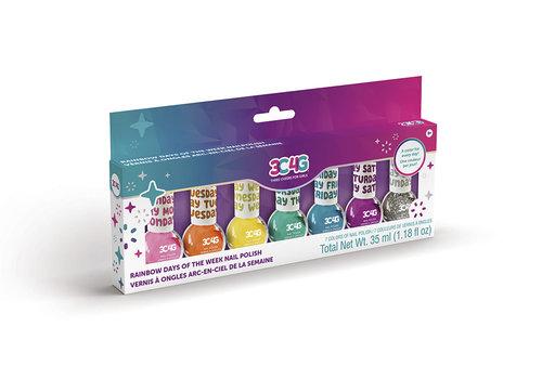 3C4G 3C4G - Vernis à ongles 7 couleurs