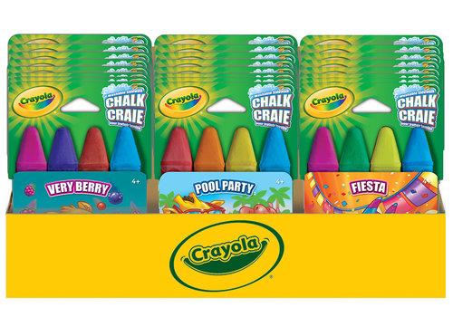 Crayola 4 Themed Chalk assortment