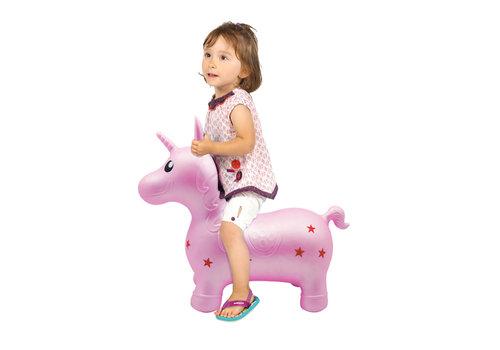 ludi LUDI - Ma licorne sauteuse rose