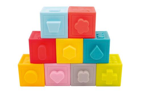 ludi LUDI - Cubes emboîtables 9 pcs