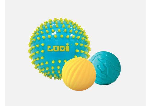 ludi LUDI - 3 balles sensorielles