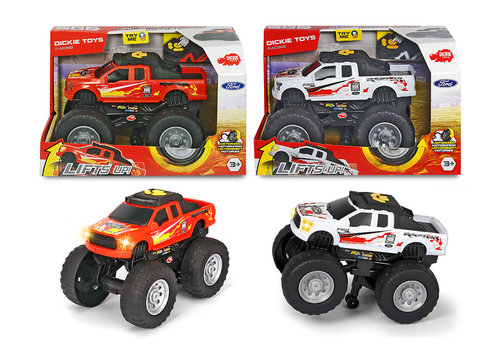 Dickie-Racing Ford Raptor-Wheelie S&L 25.5 cm