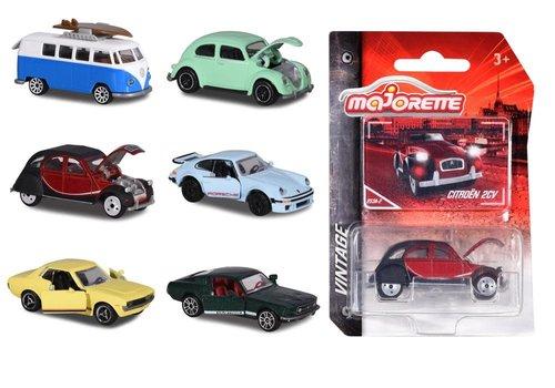 Majorette Majorette - Vintage cars assorted