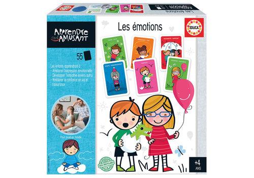 Educa Apprendre c'est amusant - Les émotions Version française