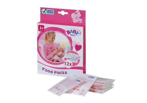 Baby Born - Sachets de nourriture 12 pcs