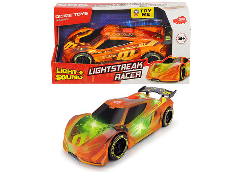 Dickie - Racing Lightstreak Racer S&L 20 cm