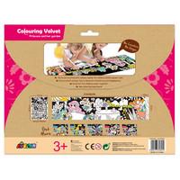 Colouring Velvet Princess and Her Garden - Coloriage Velours Princesse et son jardin