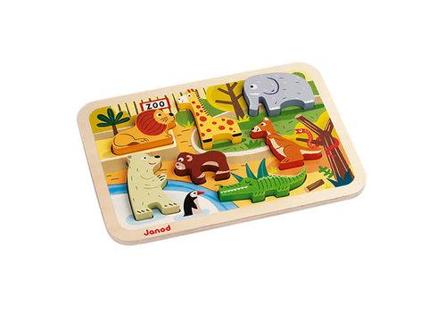 Janod Chunky Puzzle Zoo