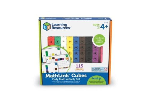 Learning Resources Mathlink Cube Elementary Math Activity S