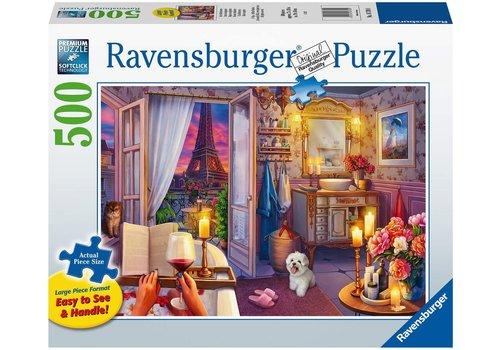 Ravensburger Casse-tête 500 Pièces Larges - Dans la baignoire