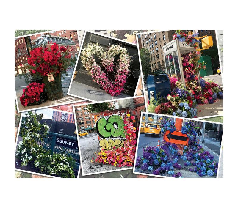 Casse-tête 1000 morceaux - Exposition Florale
